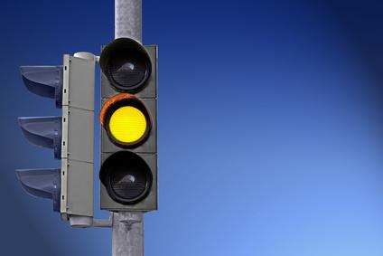 Verkehrsrecht Haltepflicht Gelblicht